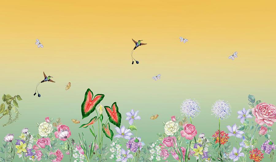 Springtime Joy Mixed Media