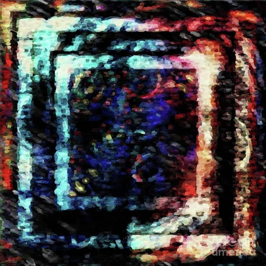 Squares In A Box Digital Art
