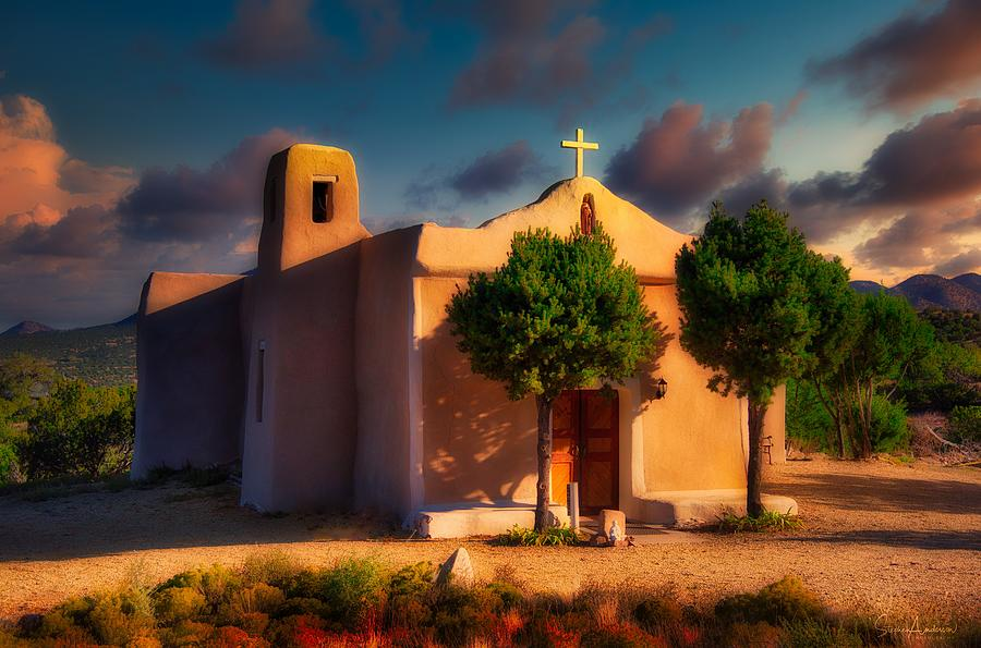 St. Francis De Assisi Adobe Chapel Photograph
