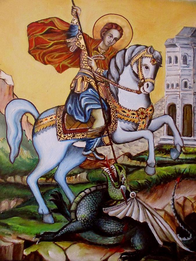 St. George Painting