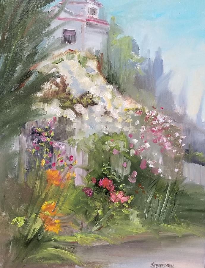 St. Lawrence Garden by Cheryl LaBahn Simeone