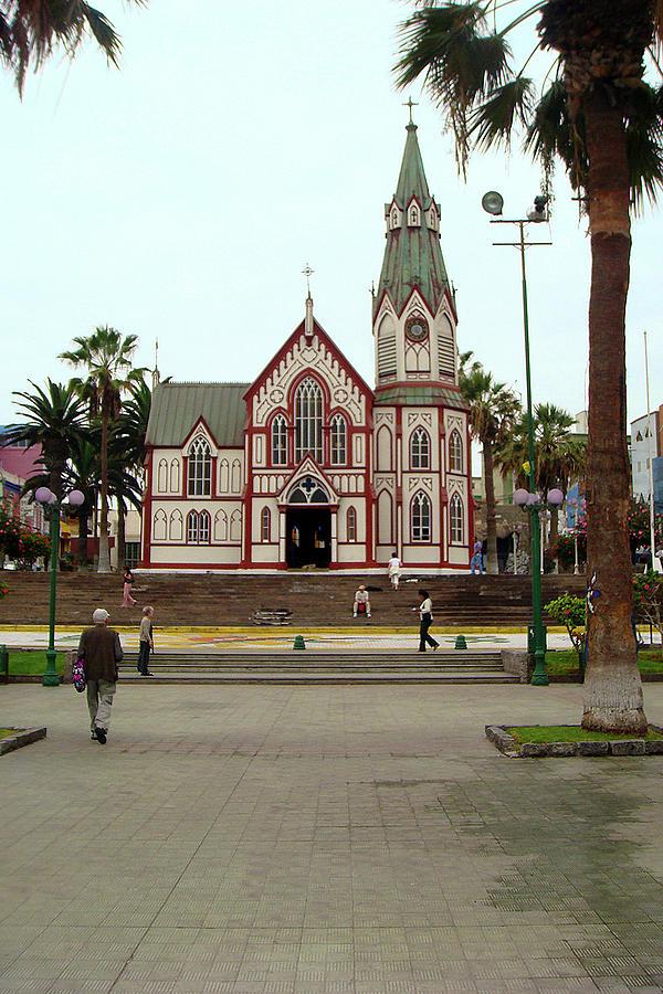 St. Marks Cathedral, Arica Painting by Karen Zuk Rosenblatt