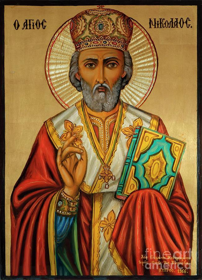 St. Nicholas by Edmund Nagele
