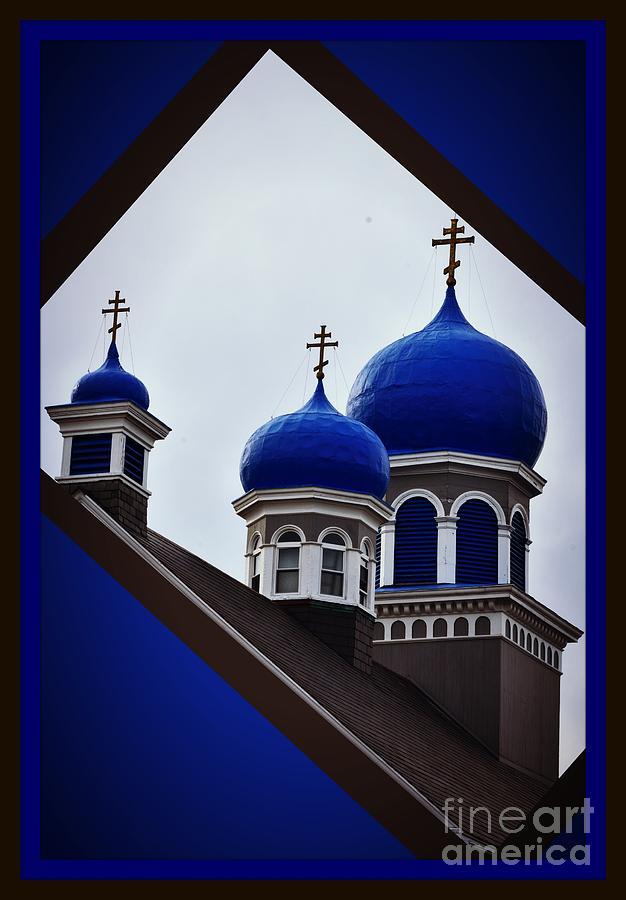St. Nicholas's Blue Onions by Lita Kelley
