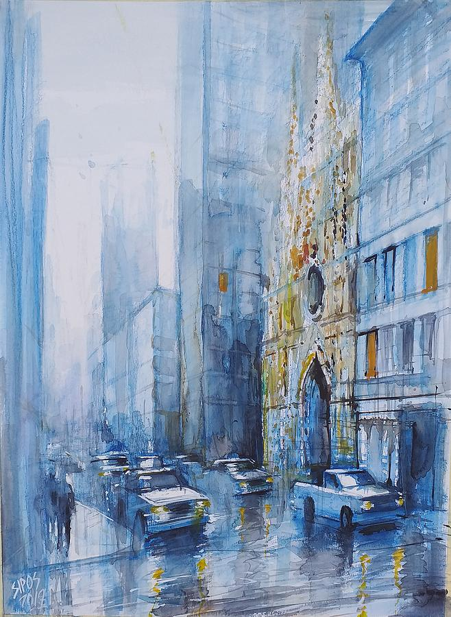 St. Patrick Cathedral New York Painting