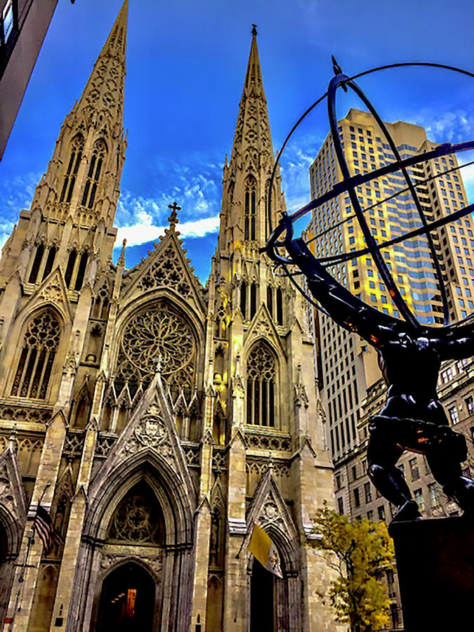 St. Patrick's Cathedral Photograph - St. Patricks Cathedral by Jeremy Edsall