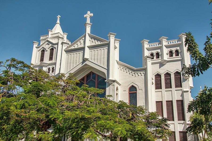 St Paul's Episcopal Church of Key West by Kristia Adams