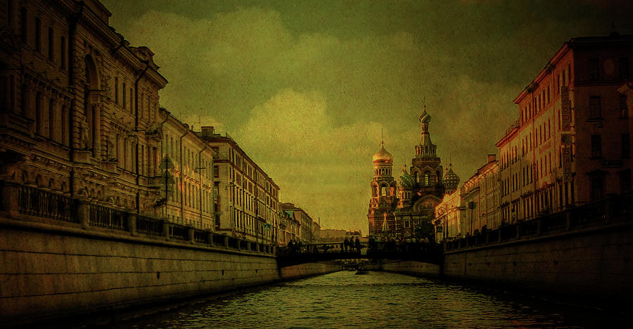 St. Petersburg In The Golden Days Photograph
