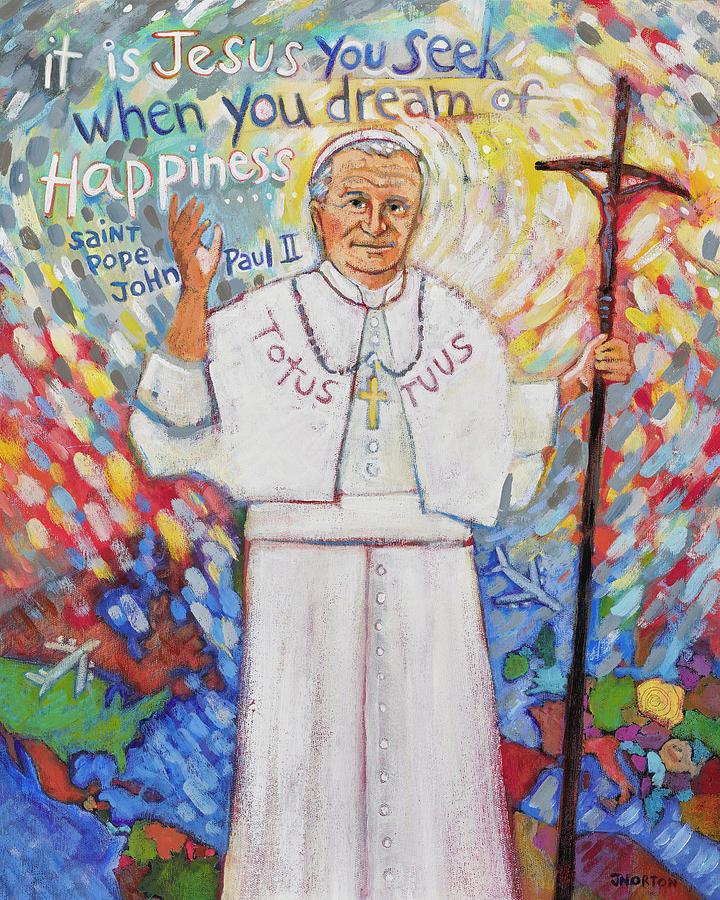 St. Pope John Paul II Painting