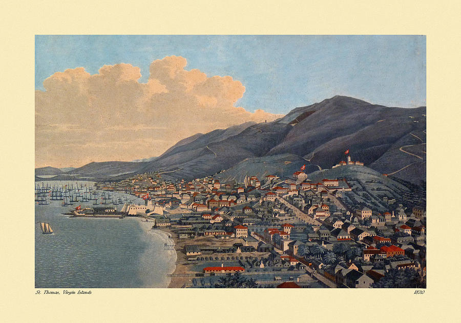 St. Thomas 1820 Photograph
