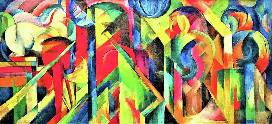 Stable Painting - Stable - Digital Remastered Edition by Franz Marc