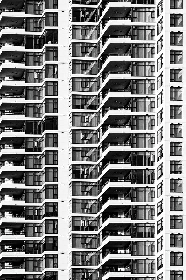 Stacked -- Grande Condominium Tower in San Diego, California by Darin Volpe