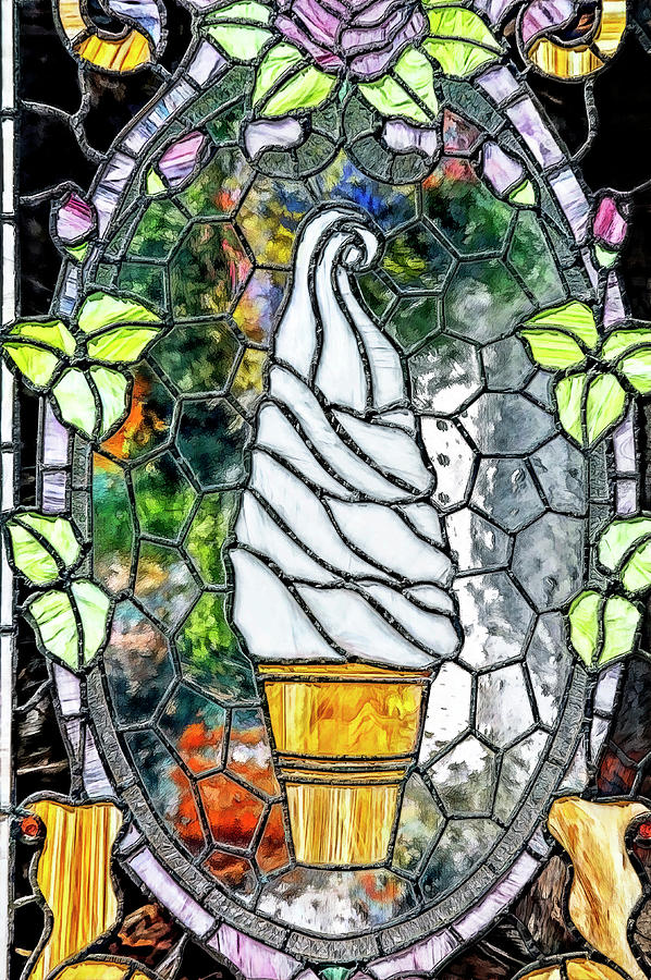 Stained Glass Ice Cream by PAUL COCO