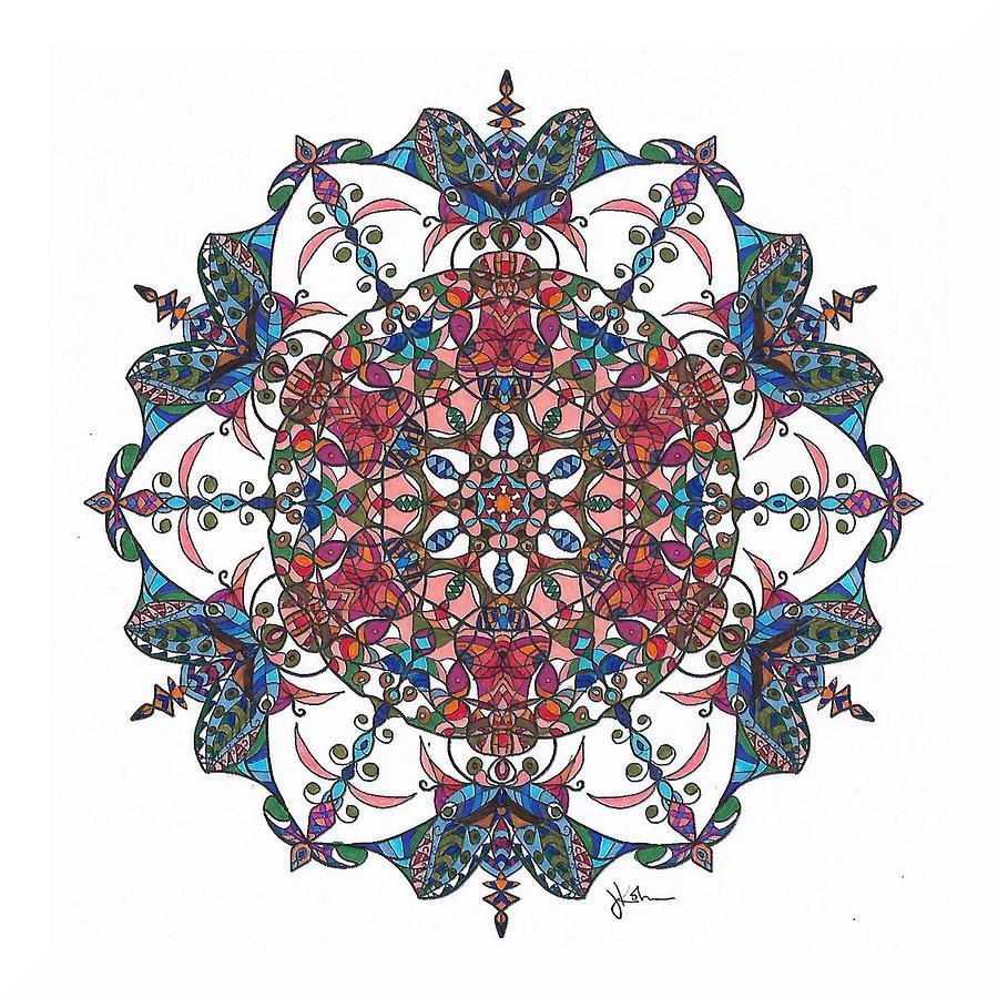 Stained Glass Mandala #11 by Jennifer Kohr