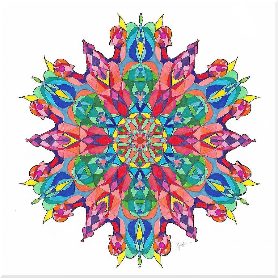 Stained Glass Mandala #22 by Jennifer Kohr