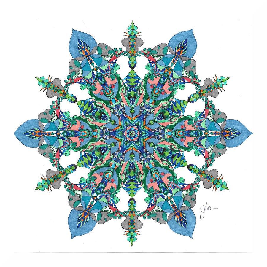 Stained Glass Mandala #23 by Jennifer Kohr