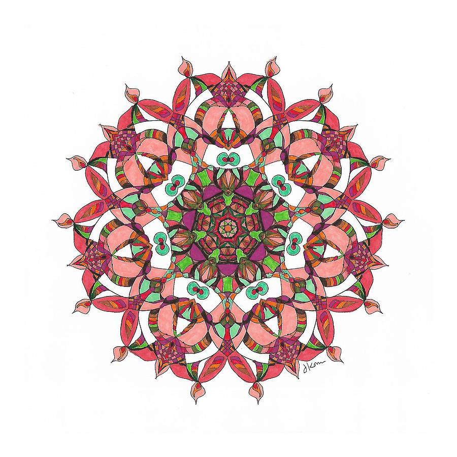 Stained Glass Mandala #27 by Jennifer Kohr