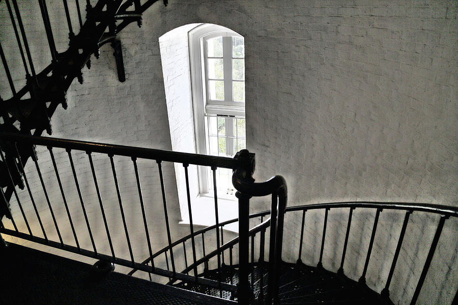 Stairs, Walls And Windows Photograph