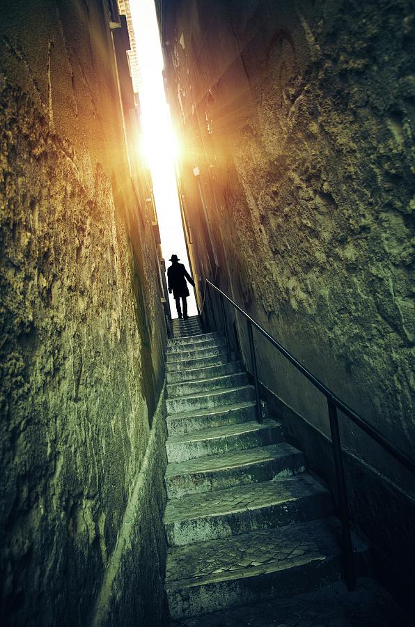 Stairway to the Light by Carlos Caetano