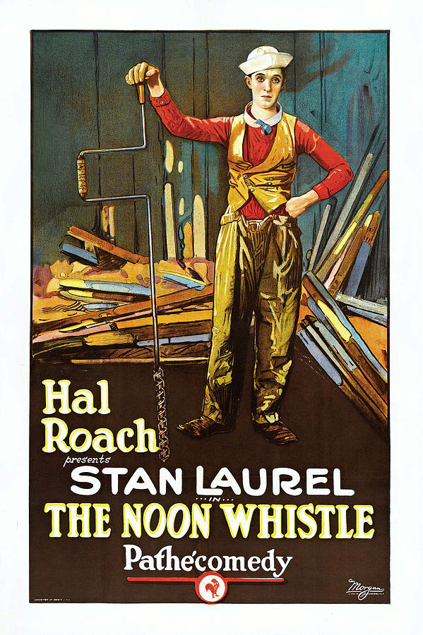 Stan Laurel The Noon Whistle 1923 by Hal Roach
