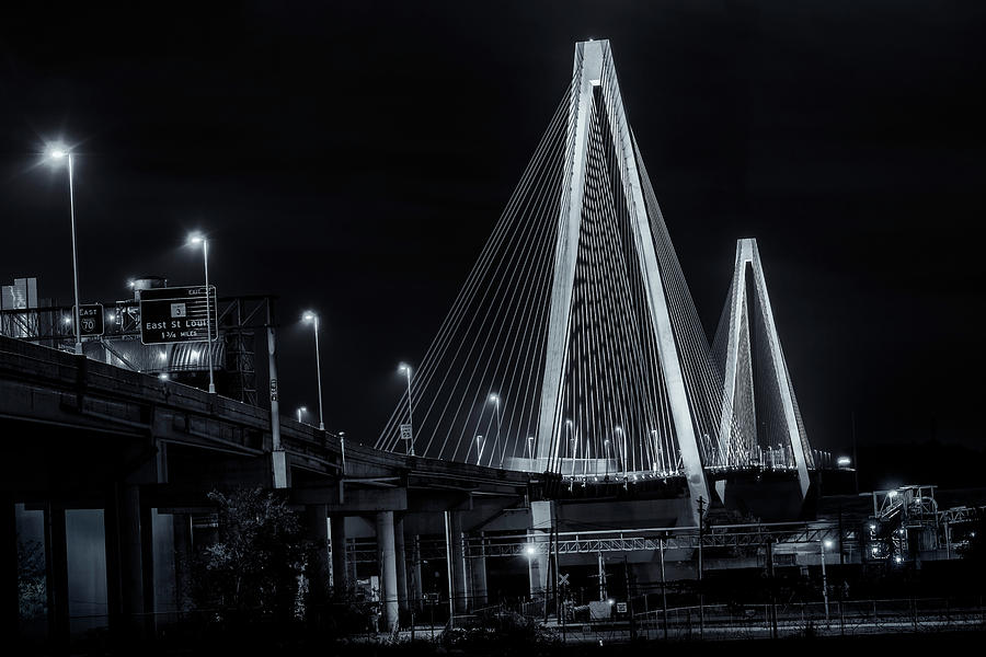 Stan Musial Bridge St Louis Mo Bnw-GRK7597_10282019 by Greg Kluempers