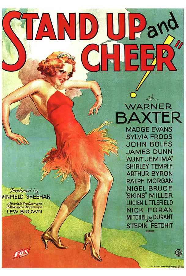 stand Up And Cheer, 1934 Mixed Media