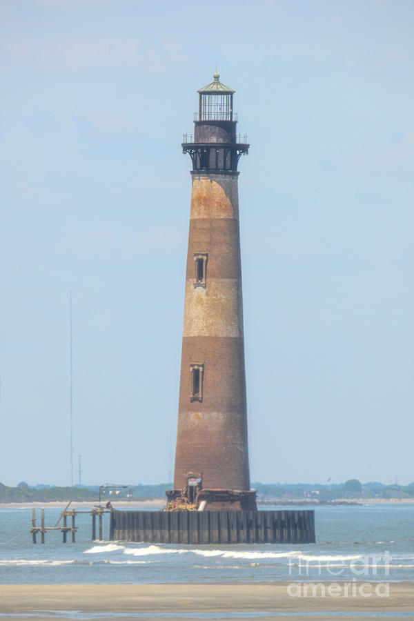 Standing Tall - Morris Island Lighthouse - Charleston Sc Photograph