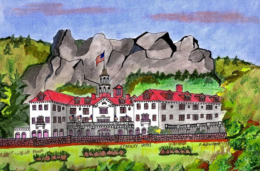 Stanley Hotel Colorado Drawing