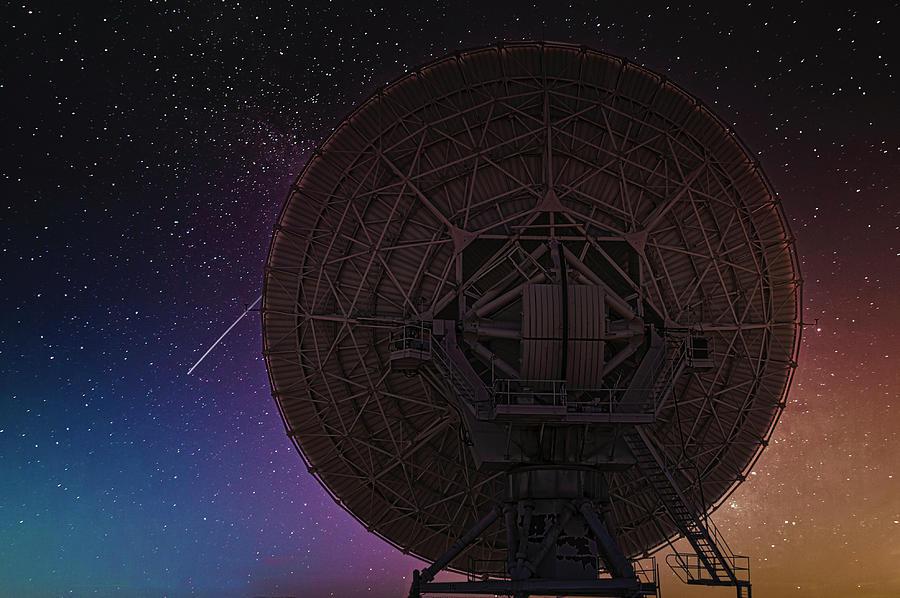 Star Gazing, Very Large Array Photograph