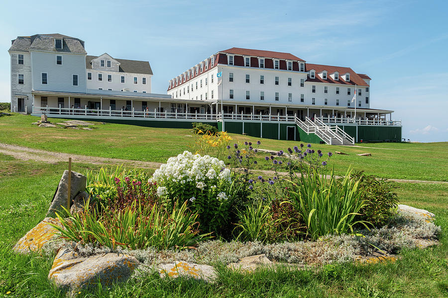Star Island Hotel, Isles of Shoals, New Hampshire by Dawna Moore Photography