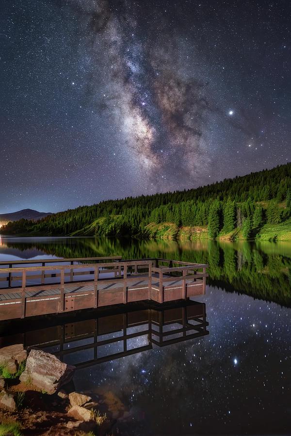 Stargazing Dock by Darren White