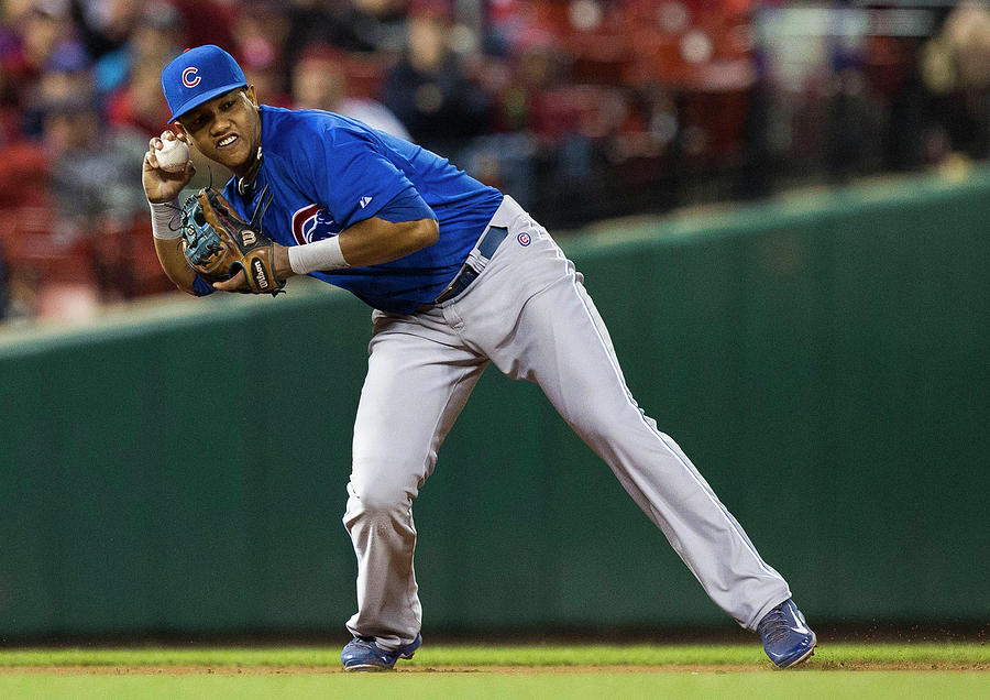 Starlin Castro Photograph by David Welker