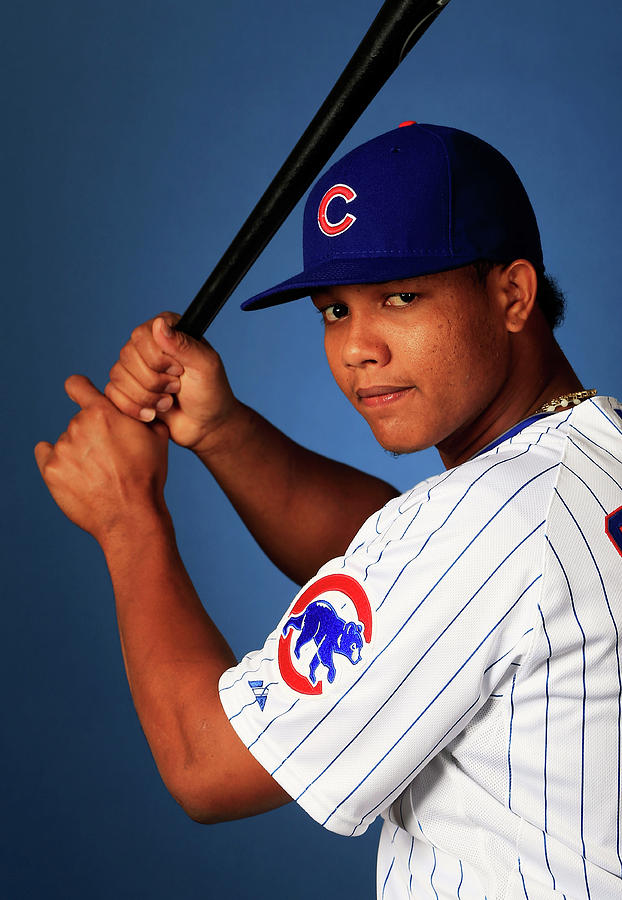 Starlin Castro Photograph by Jamie Squire