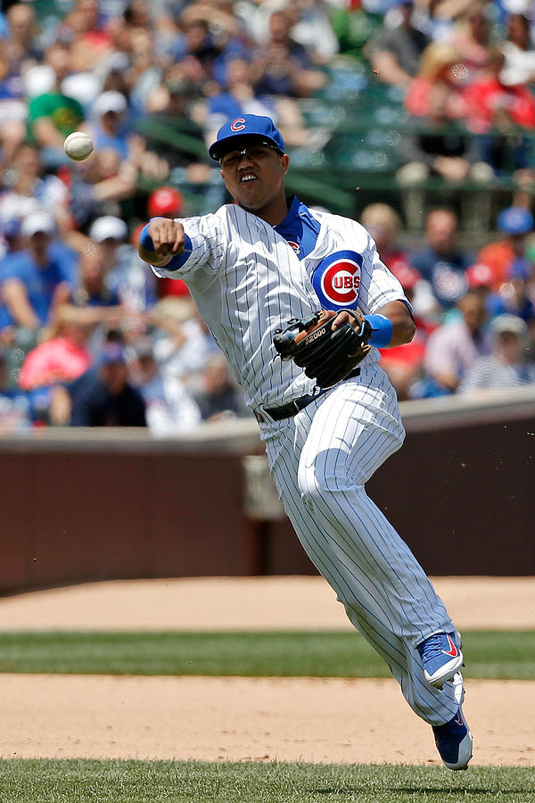 Starlin Castro Photograph by Jon Durr