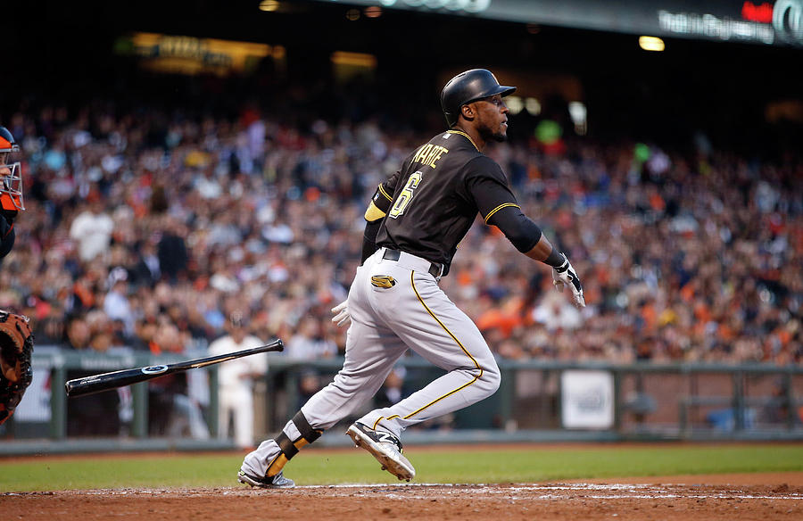 Starling Marte Photograph by Ezra Shaw