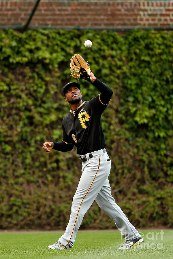 Starling Marte Photograph by Jon Durr