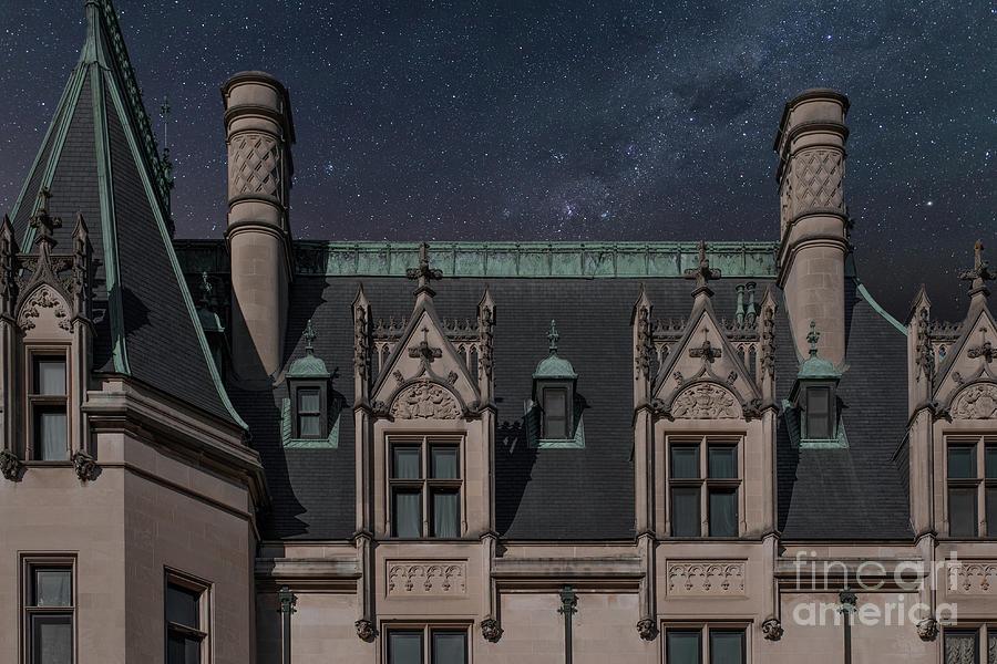Starry Night - Biltmore Estate Photograph