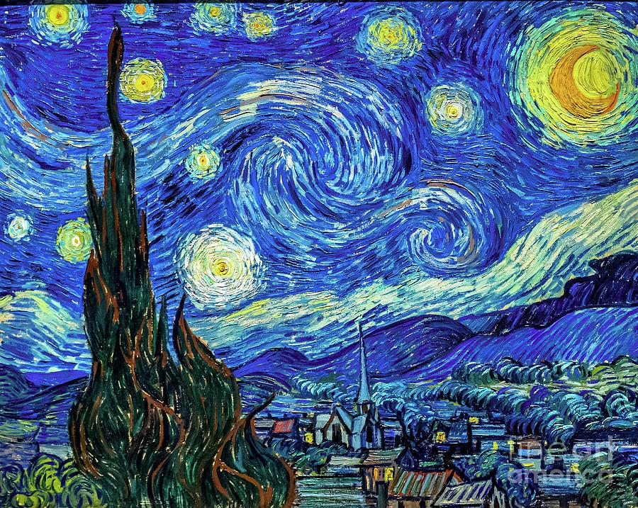 Image result for vincent van gogh starry night