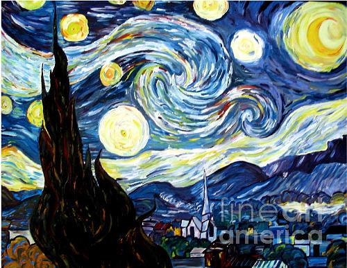 Starry Night by Nila Jane Autry