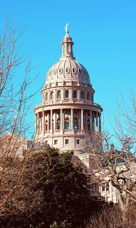 State Capitol Of Texas #3 Photograph