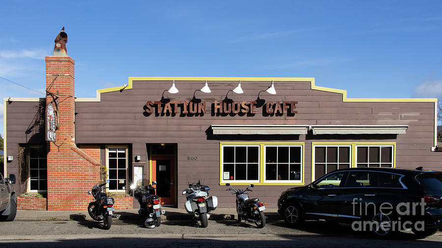 Station House Cafe in The Town of Point Reyes Station California R1856 by San Francisco