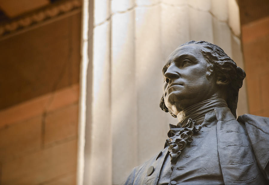 Statue of George Washington Photograph by Tetra Images
