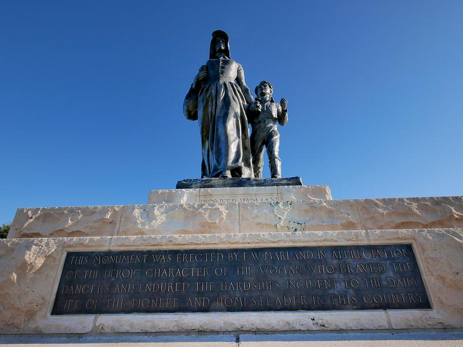 Statue Plaque Photograph