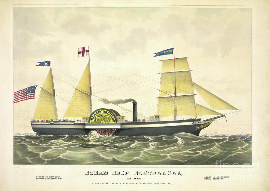 Steam Ship Southerner Photograph