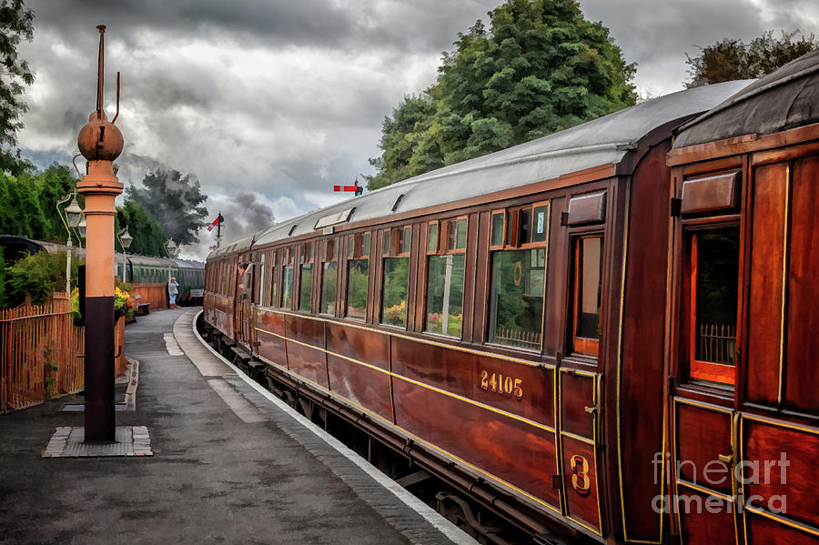 Steam Train Carriages by Adrian Evans