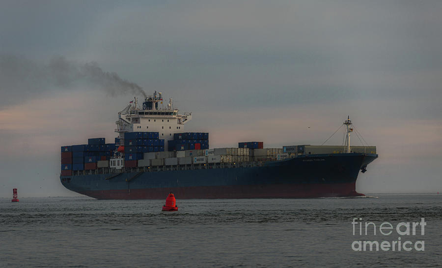 Steaming Into Charleston - Diesel Smoke Photograph
