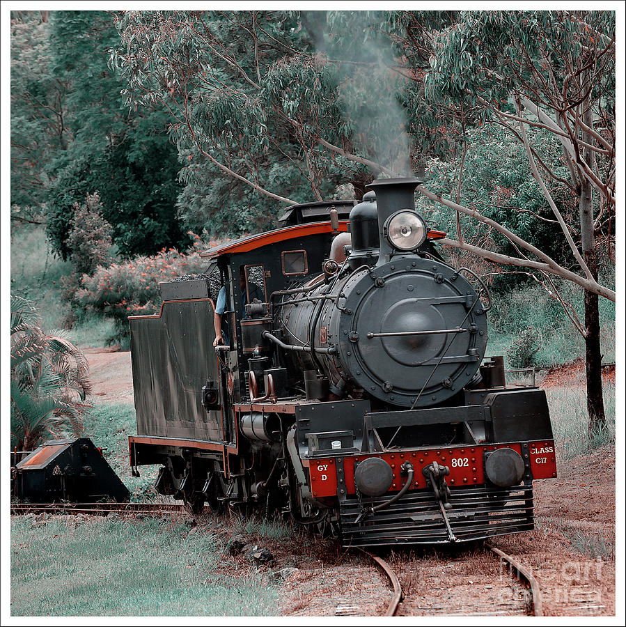 Steaming Out 1 by Russell Brown