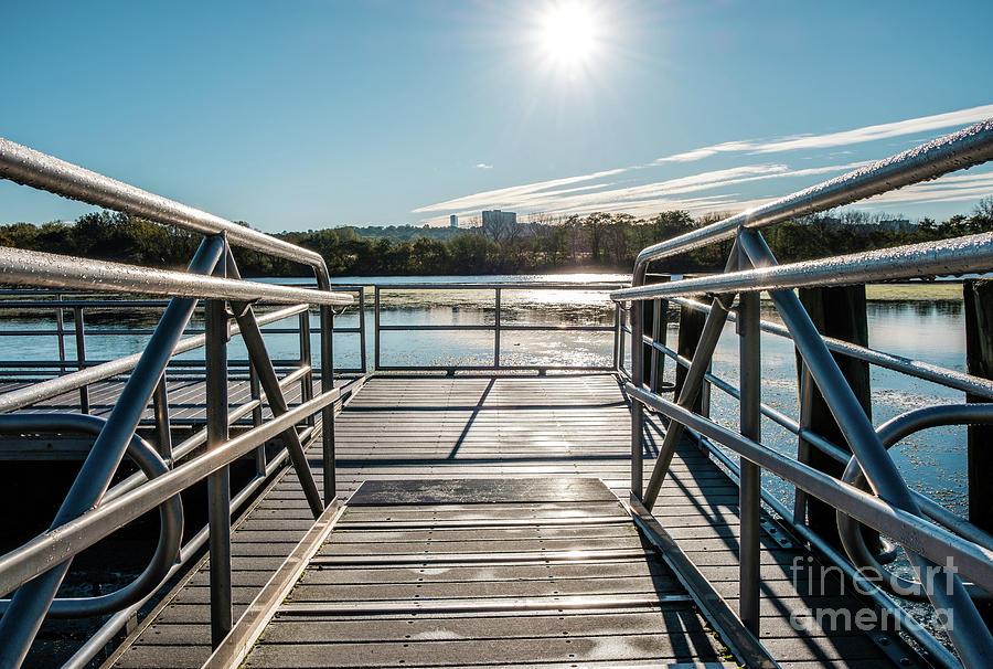 Steel Dock by Len Tauro