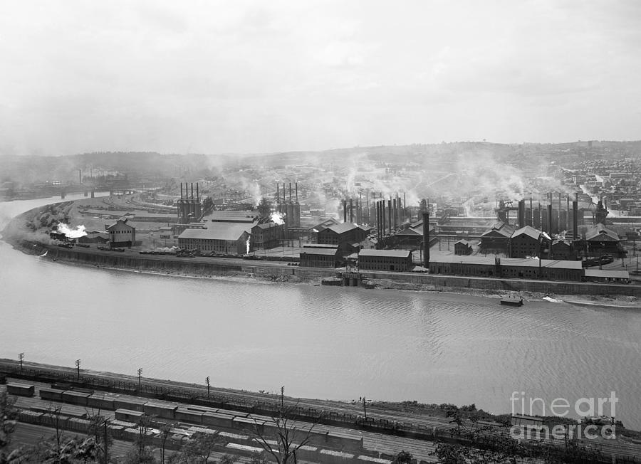 STEEL FACTORY, c1905 by Unknown