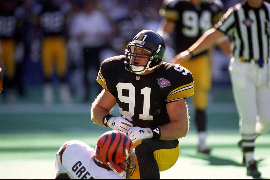 Steelers Kevin Greene Photograph by George Gojkovich